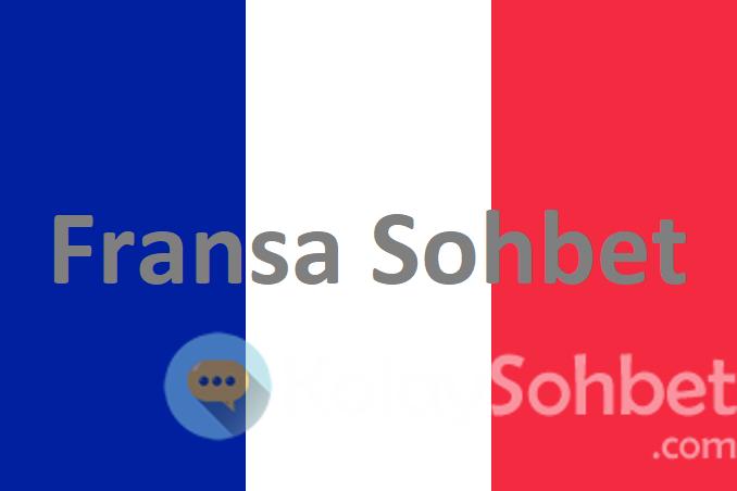 Fransa Mobil Chat Odaları