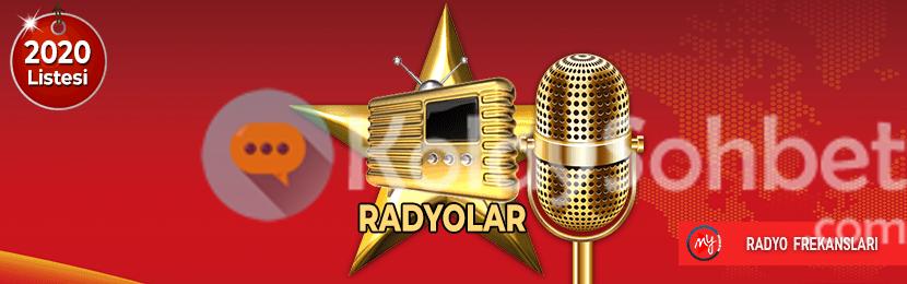 Sohbet radyo kanalları